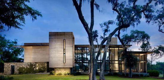 Modern house design by James Choate
