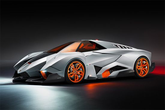Lamborghini Unveils Lamborghini Egoista Concept