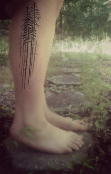 Tree tattoo; like the placement