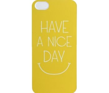 Have A Nice Day iPhone Case.