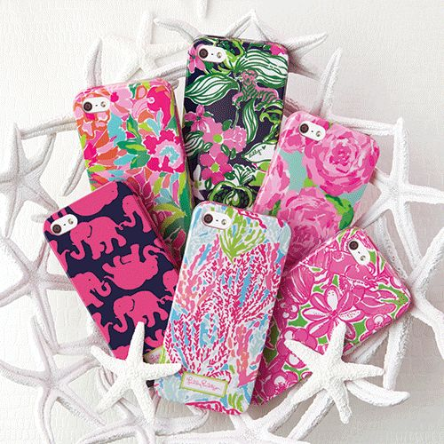 Lilly Pulitzer iPhone 5 Cases (Fall)