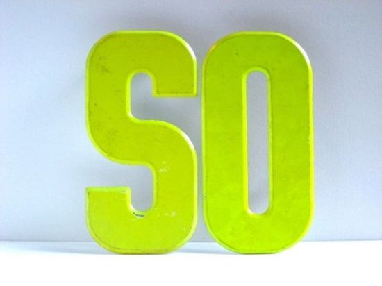 These letters will instantly brighten up any room. #neon