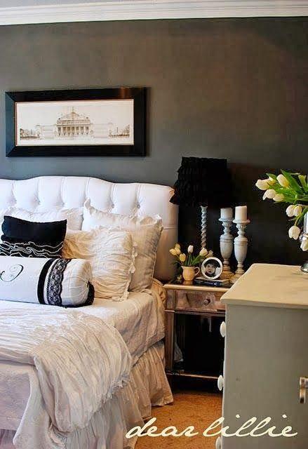 homey home design: Color Inspiration: Black