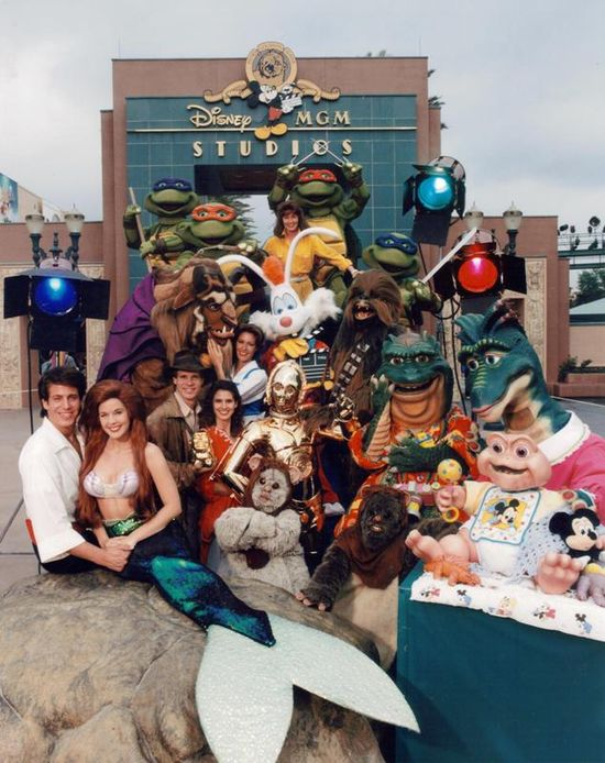 Disney-MGM Studios at Walt Disney World in the '90s. Pure awesome.