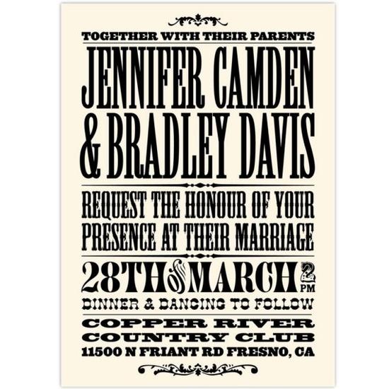 vintage invite