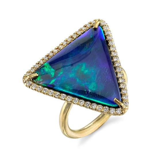 Irene Neuwirth opal ring