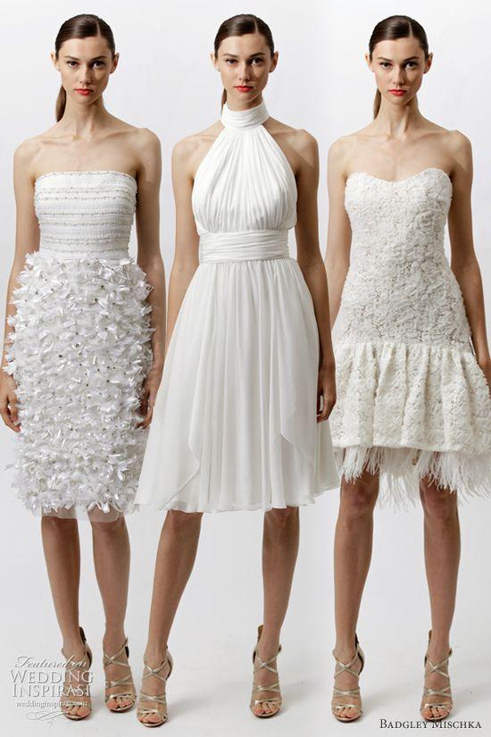 badgley mischka resort 2012 white dresses