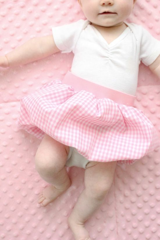delia creates: Baby Bubble Skirt Tutorial