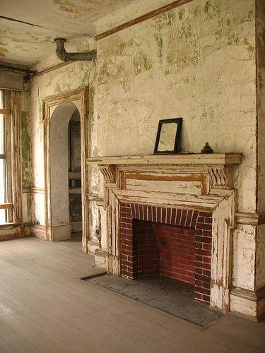 Abandoned Ellis Island: Director's building