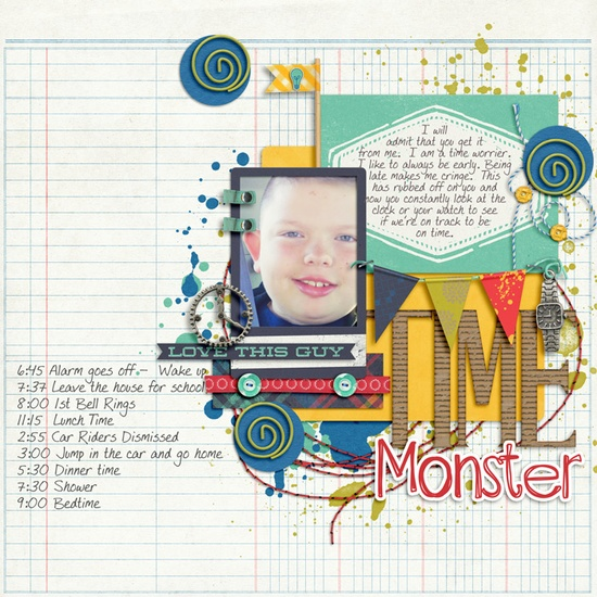 Time Monster - Scrapbook.com