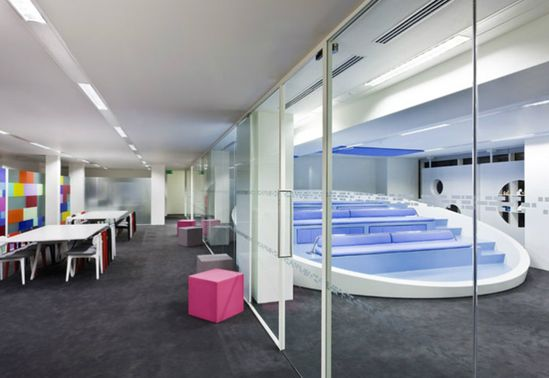 Engine Innovation Labs by Jump Studios, London office design