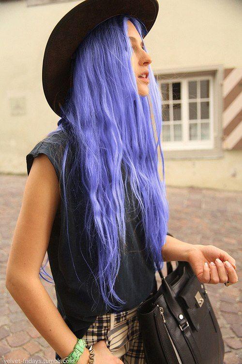 pastel purple hair :)