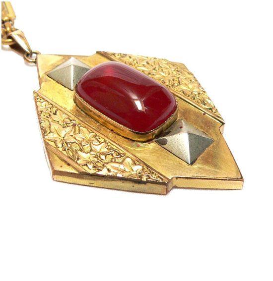 Rare Art Deco Necklace