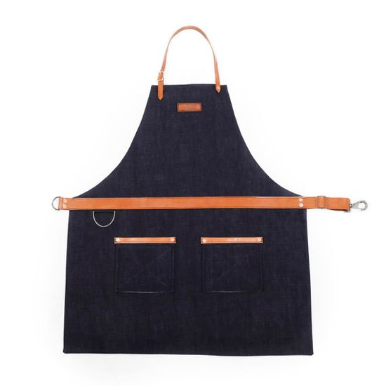 Rugged Men's Apron  Selvage Denim  Indigo by Hardmill on Etsy, $220.00