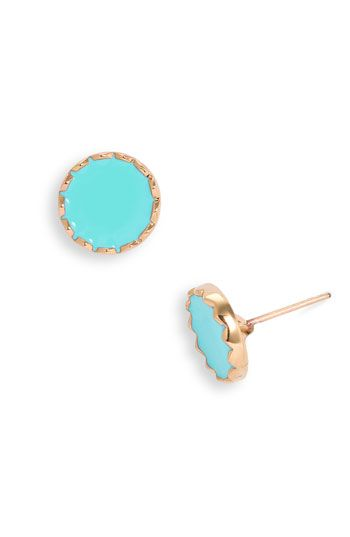 kate spade turquoise studs
