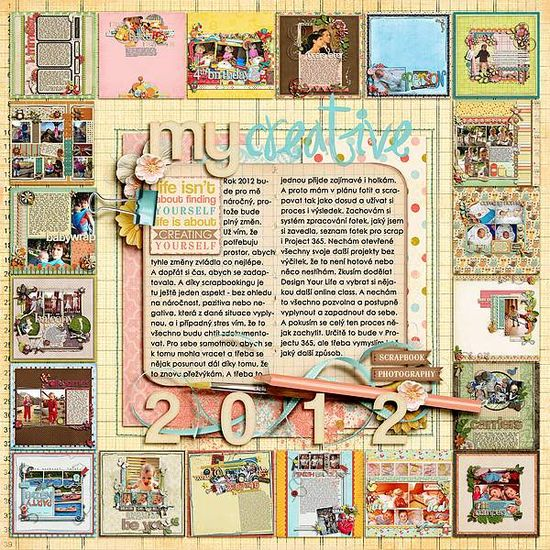 Pretty scrapbooking!