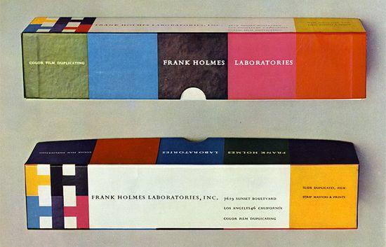 packaging, Saul Bass (1950's)