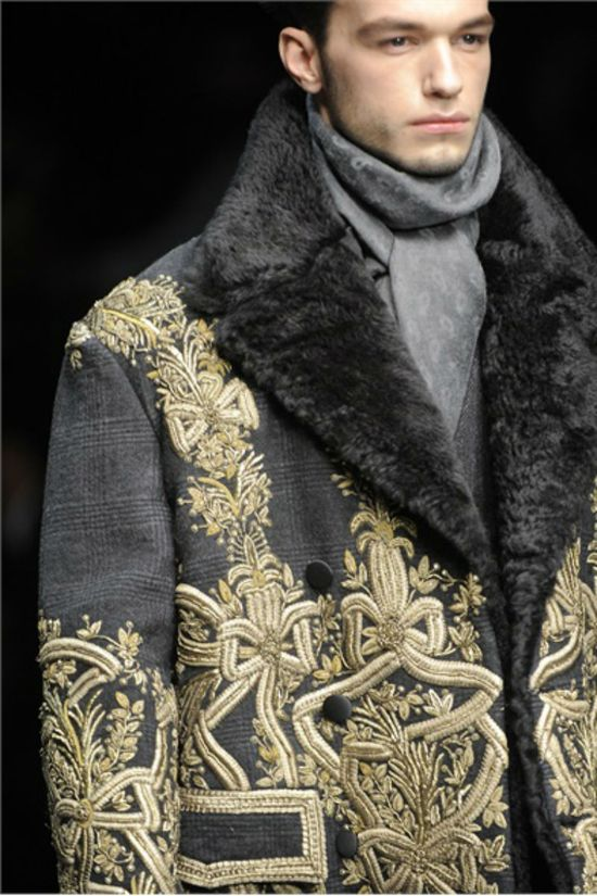 Dolce & Gabbana Fall/Winter Men's Collection 2013