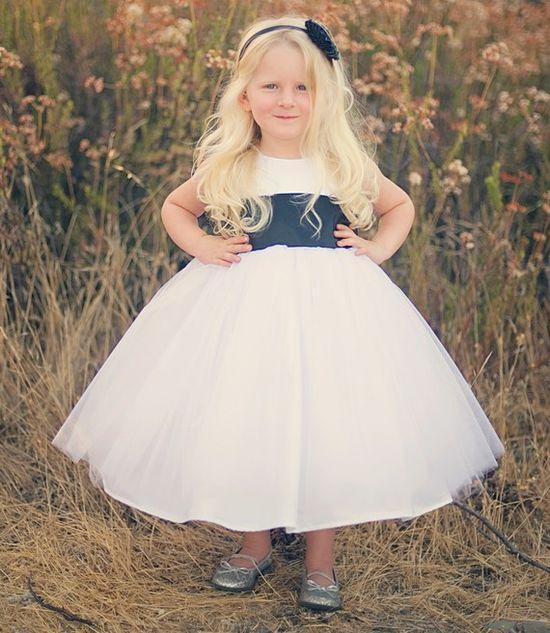 LOVE this flower girl dress!