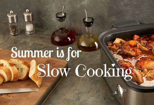 Summer Is for Slow Cooking: 17 recipes for crockpot cooking this summer. Keep your kitchen cool while the weather is hot!