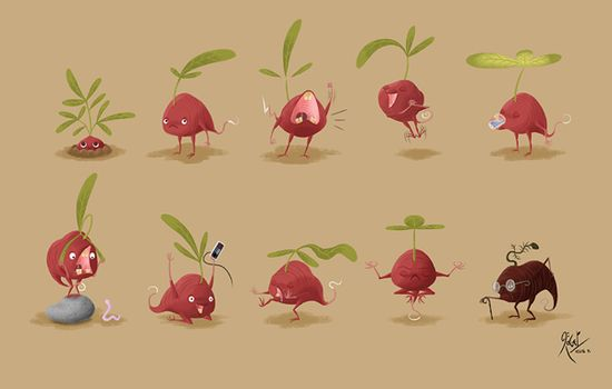 Character Design on Behance via PinCG.com