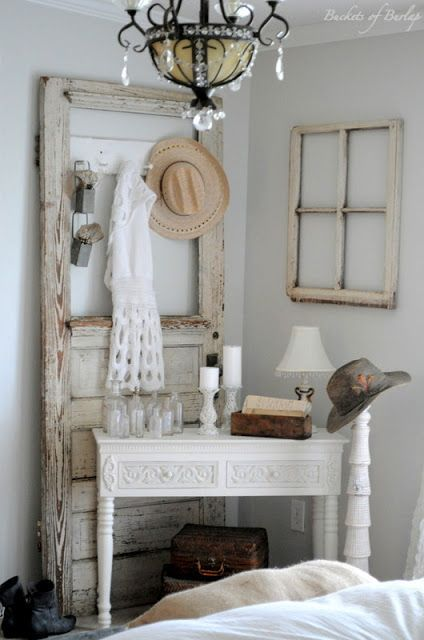 old doors n windows! ????????& - ideasforho.me/... -  #home decor #design #home decor ideas #living room #bedroom #kitchen #bathroom #interior ideas