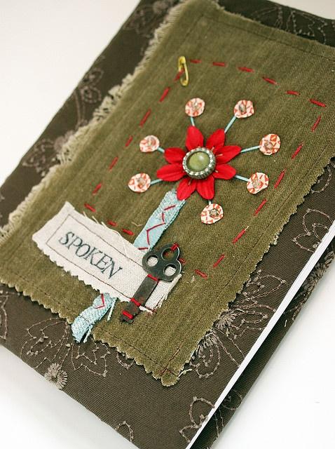 Handmade journal - Rebecca Sower