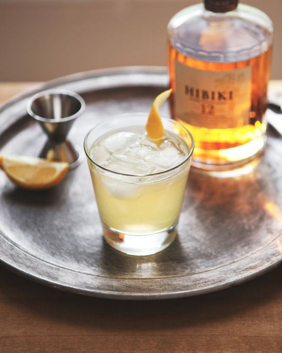 Japanese Whisky Collins -a Better Happier St. Sebastian