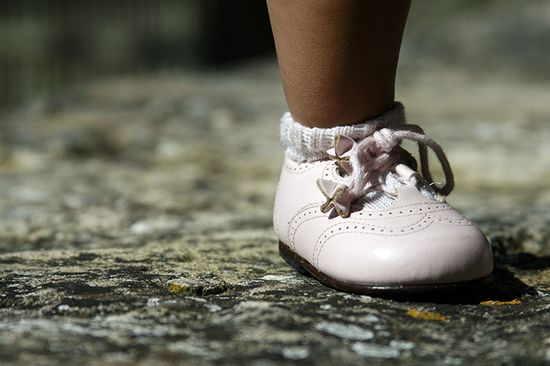 Lovely baby shoes