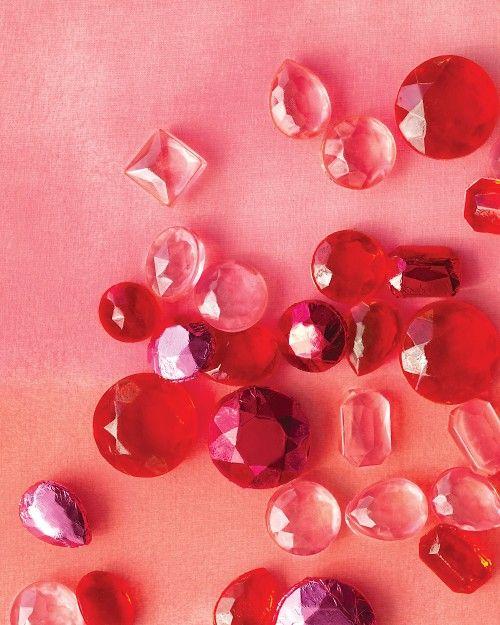 bonbons bijoux faits maison / Homemade candy gems