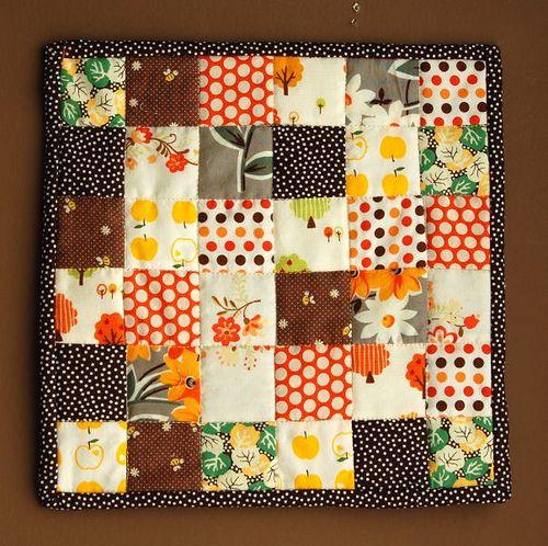 JCasa Handmade tiny quilt!