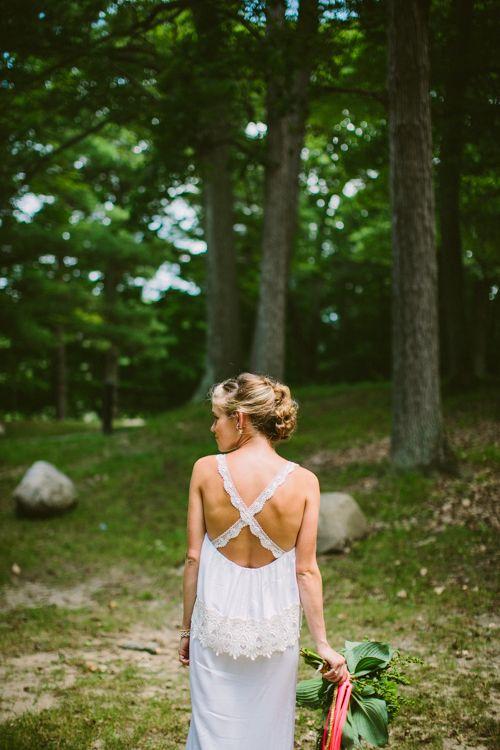 Stone Cold Fox wedding gown // photo by Jill DeVries // ruffledblog.com/...