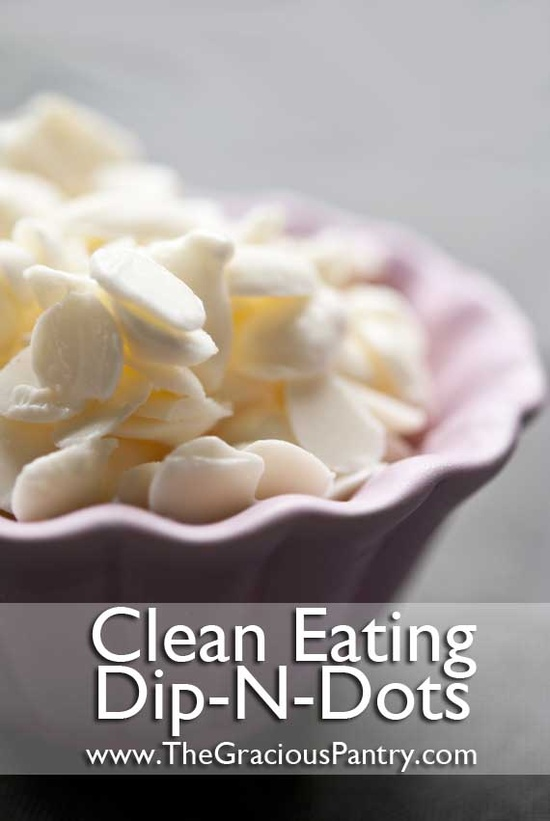 Clean Eating Dip N' Dots