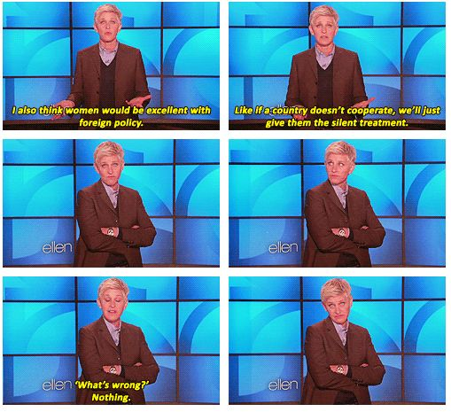 The US government should watch more Ellen.
