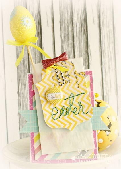 Easter card * Heidi Swapp* - Scrapbook.com