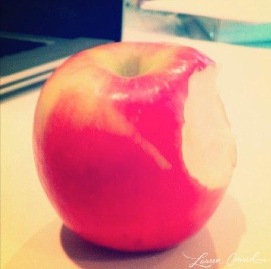 favorite snack #apple