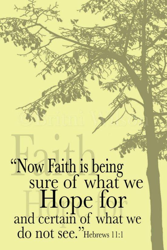 ? Faith
