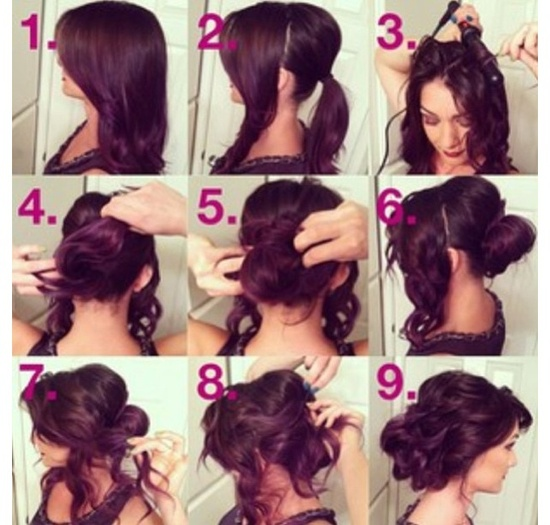 Cute & easy hairstyle