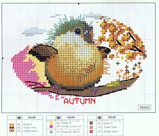 L'oiseau d'automne