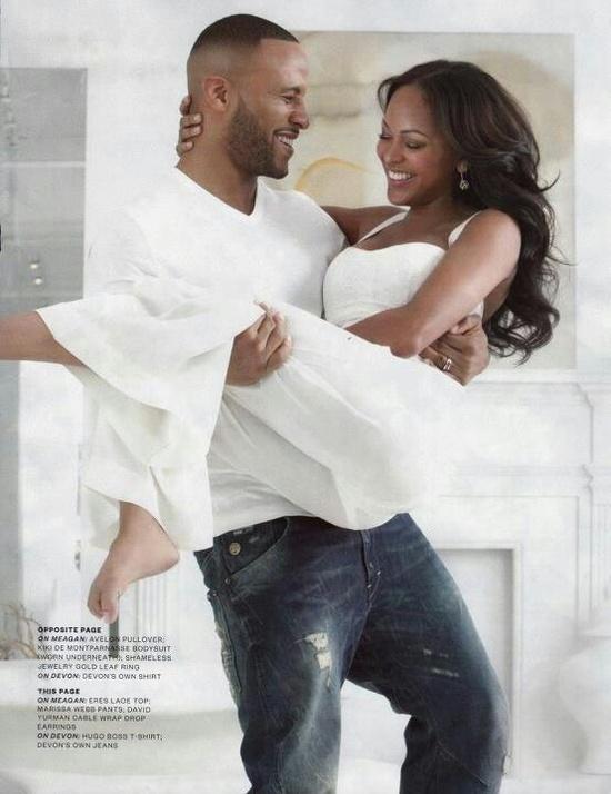 Meagan Good and husband DeVon Franklin