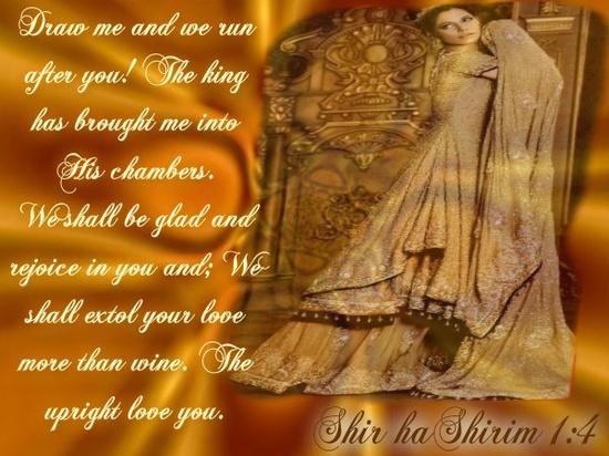 Shir haShirim 1:4