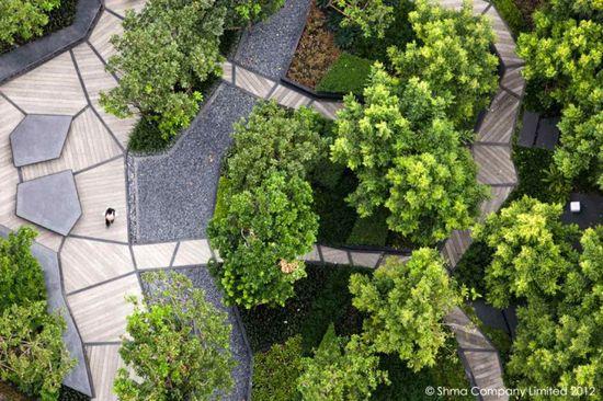 Life@Ladprao 18 Condominium Garden by Shma Design