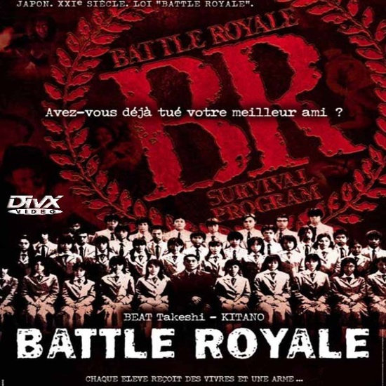 Battle Royal - an adsolute must one of the greatest japanese films ever made a rich comentry on youth after the 1991 economic crash in japan and the rise of disatisfied youth culture. This is the potential cure for ever increasing youth violence in japan a brilliant and brutal social commentry.