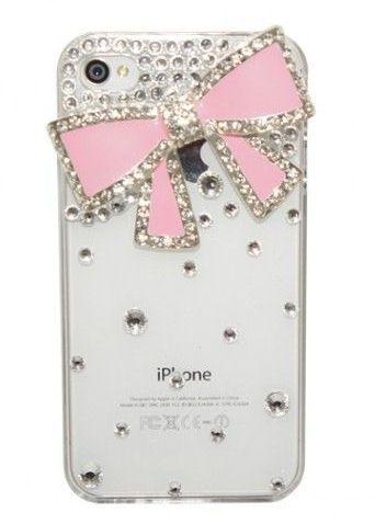 Pink Bow iPhone Cover ?