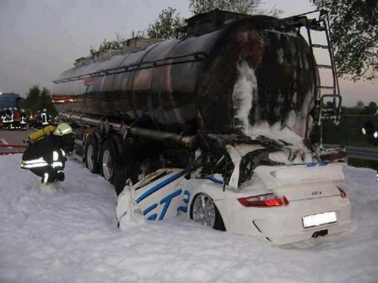 Car under rig