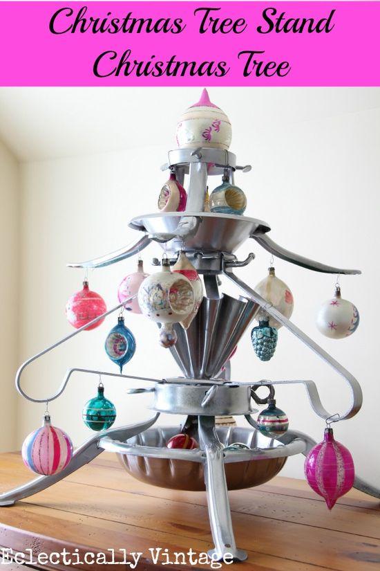 Christmas tree stand Christmas tree!