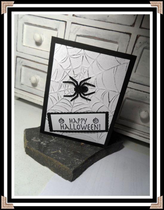 cute handmade Halloween card made by @Jana