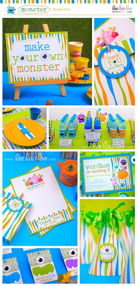 Monster Birthday Party Mega Set