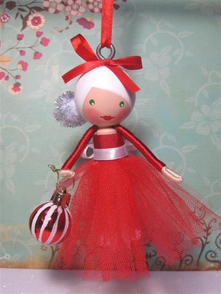 Christmas Tree Ornament Tulle