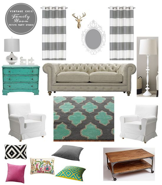 Living Room Design Inspiration by #petitepartystudio